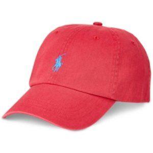 Ralph Lauren Polo Chino Baseball Cap Hat NWT